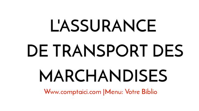 Assurance de Transport des Marchandises PDF