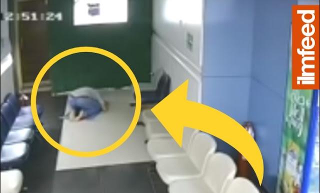 Masyaallah, Pria Masih Muda Meninggal Dalam Keadaan Sujud, Videonya Viral