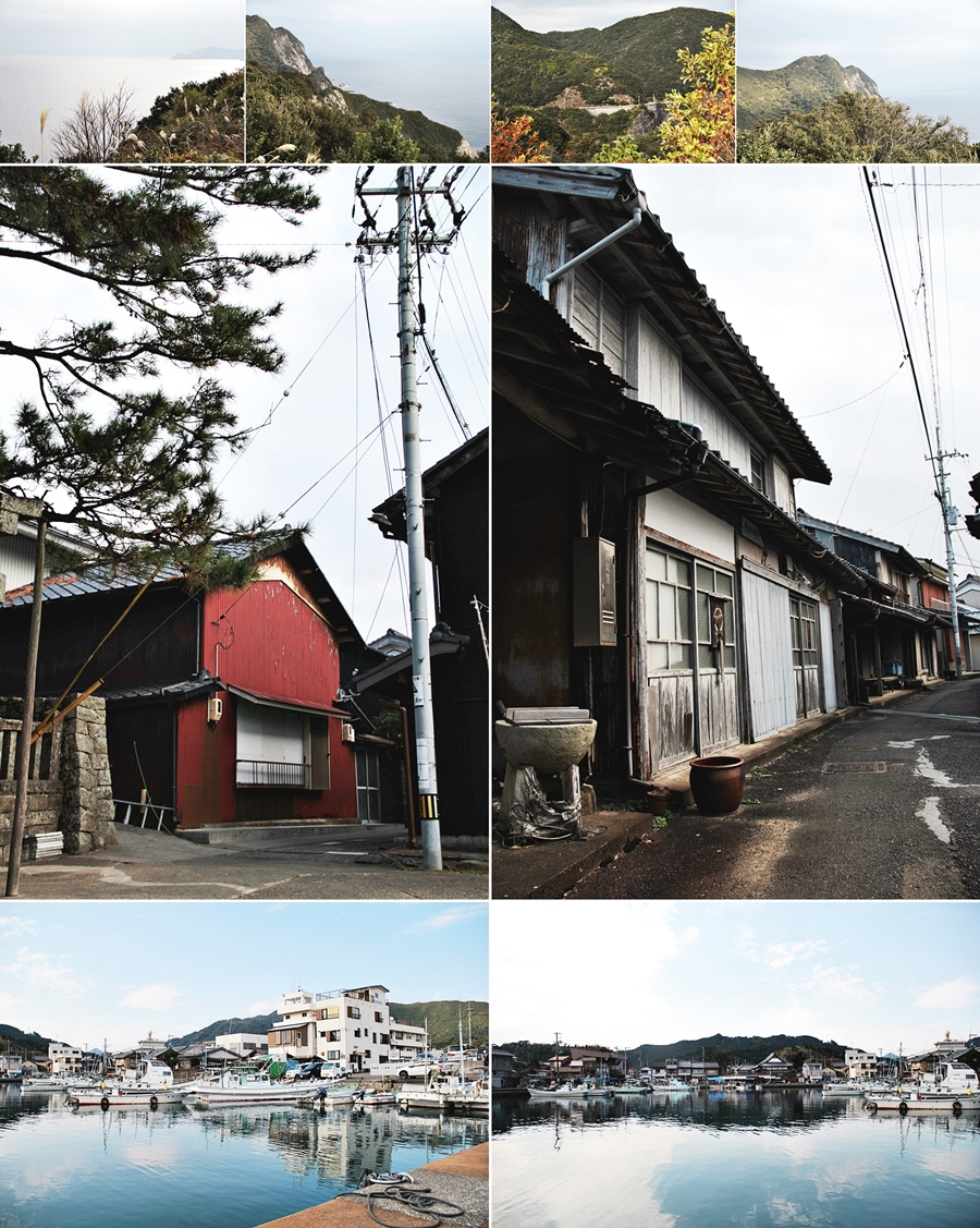 Tebajima, which is a small island in Tokushima prefecture.