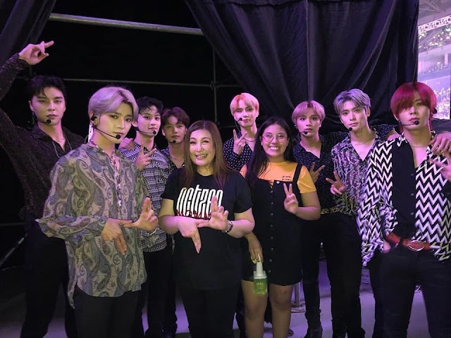 Sharon Cuneta fangirls over NCT127; invites them to a private beach for vacation