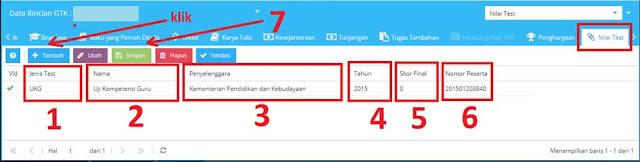 Cara pengisian nomor peserta UKG di aplikasi dapodik versi  Cara Mengisi Nomor Peserta UKG di Aplikasi Dapodik 2019