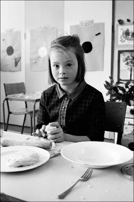 Photograph of a child at Ely Hospital in 1967 by Jurgen Schadeberg