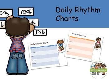 https://www.teacherspayteachers.com/Product/Daily-Rhythm-charts-4331785