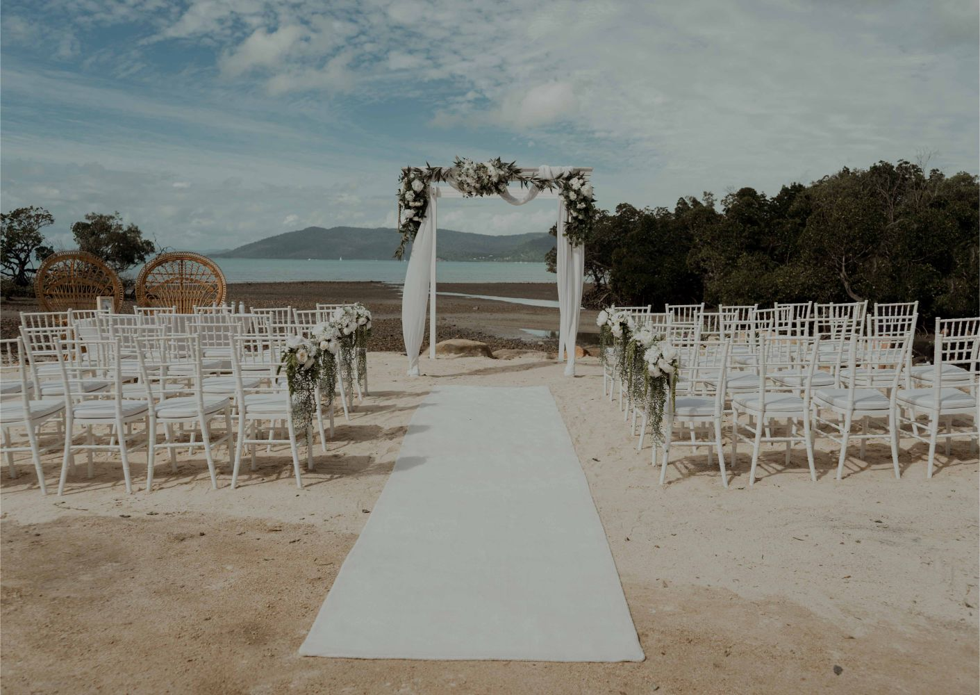 beachfront wedding venue cairns airlie beach to the wild photography