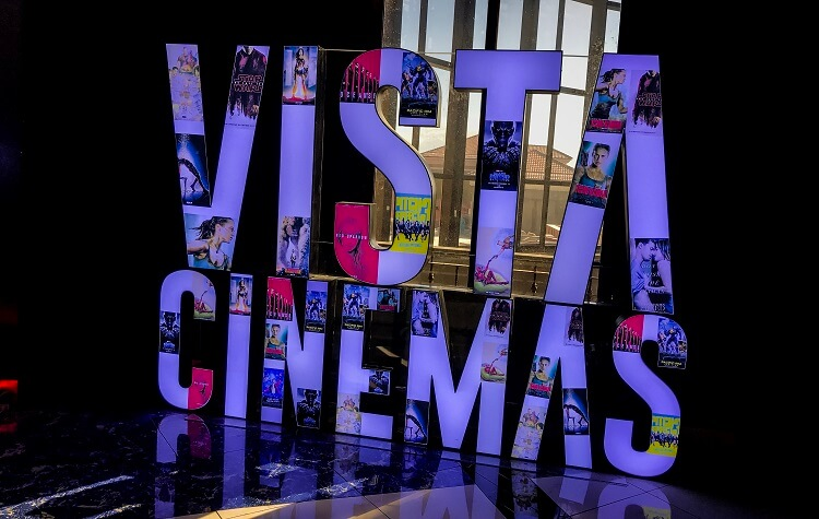 Vista Cinemas in Evia Lifestyle Center