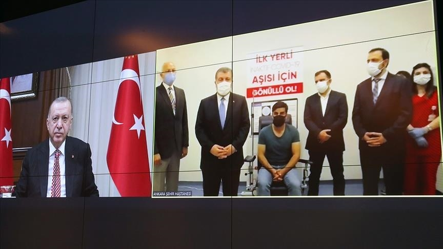 Turkovac: Ο Ερντογάν ανακοίνωσε το τουρκικό εμβόλιο κατά της Covid-19
