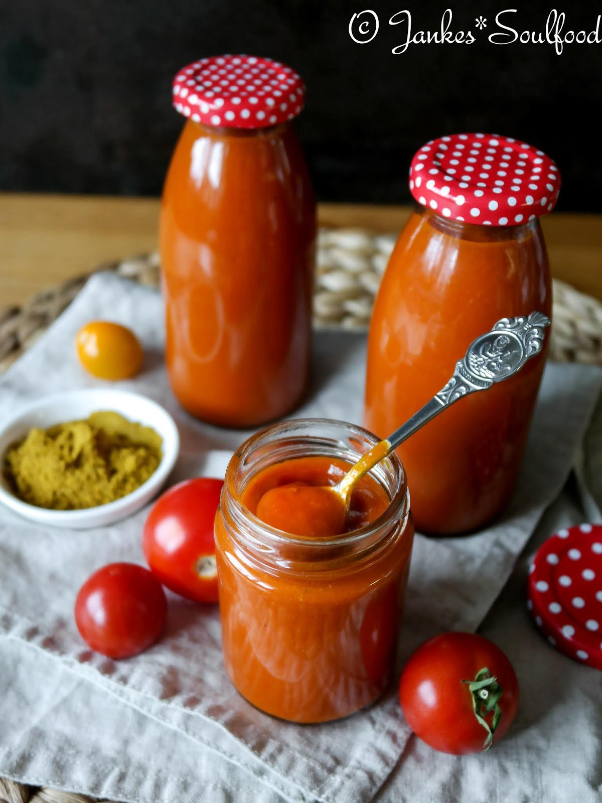 Selbstgemachter Curry-Ketchup