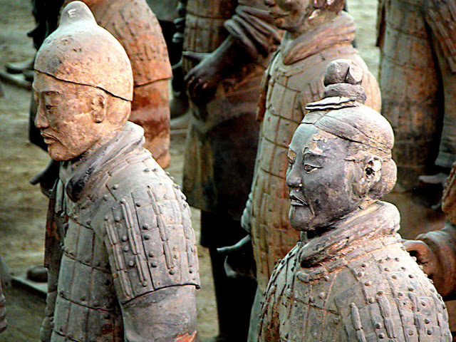 Feet of clay: 'Foreign forces' row over China's Terracotta Warriors
