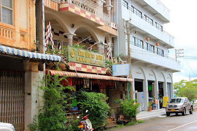Colonial buildings in Savannakhet