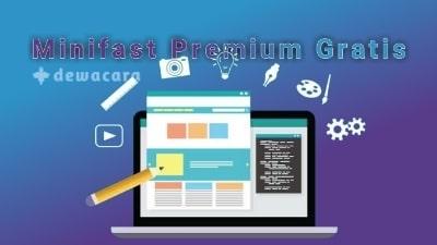 Download minifast template blogger premium gratis