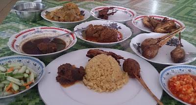 Kuliner Palembang - Nasi Minyak H. Abuk