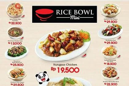 Lowongan Kerja Rice Bowl Mini Living World Pekanbaru Mei 2019