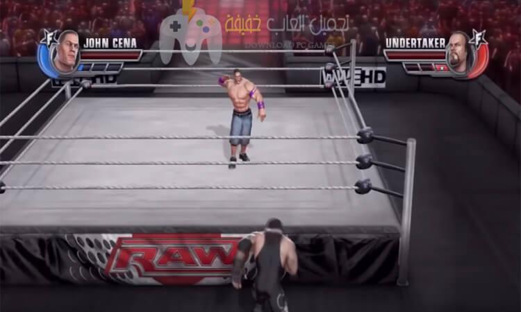 تحميل لعبة مصارعة للكمبيوتر برابط مباشر من ميديا فاير