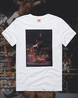 "WWE ""Shawn Michaels From High Above"" T-Shirt by HOMAGE"