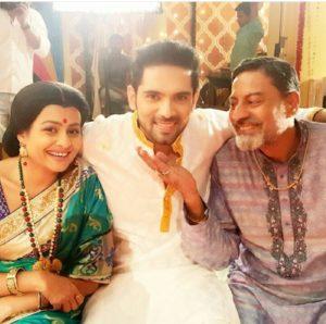 Foto Ankit Bathla pemeran dhruv pandey Thapki ANTV