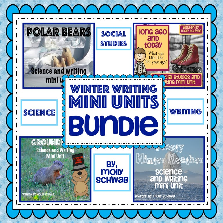 Integrated Science, Social Studies & Writing Mini Units