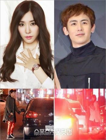 Tiffany SNSD and Nichkhun 2PM Dating?