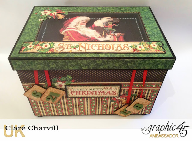 St Nicholas Advent Box Clare Charvill Graphic 45