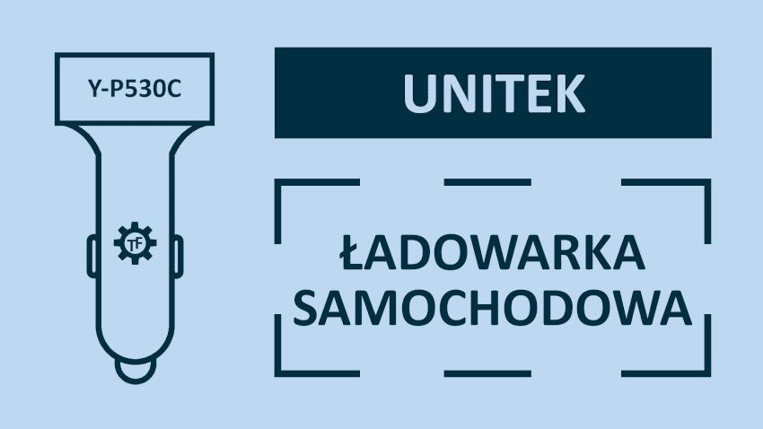Unitek Y-P530C Szybka Ładowarka Samochodowa