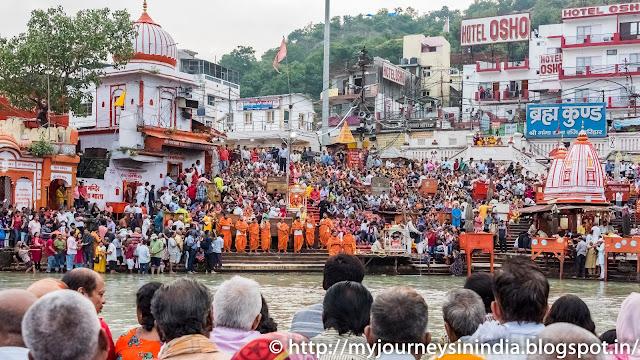 Ganga Aarti at Har-Ki-Pauri, Haridwar