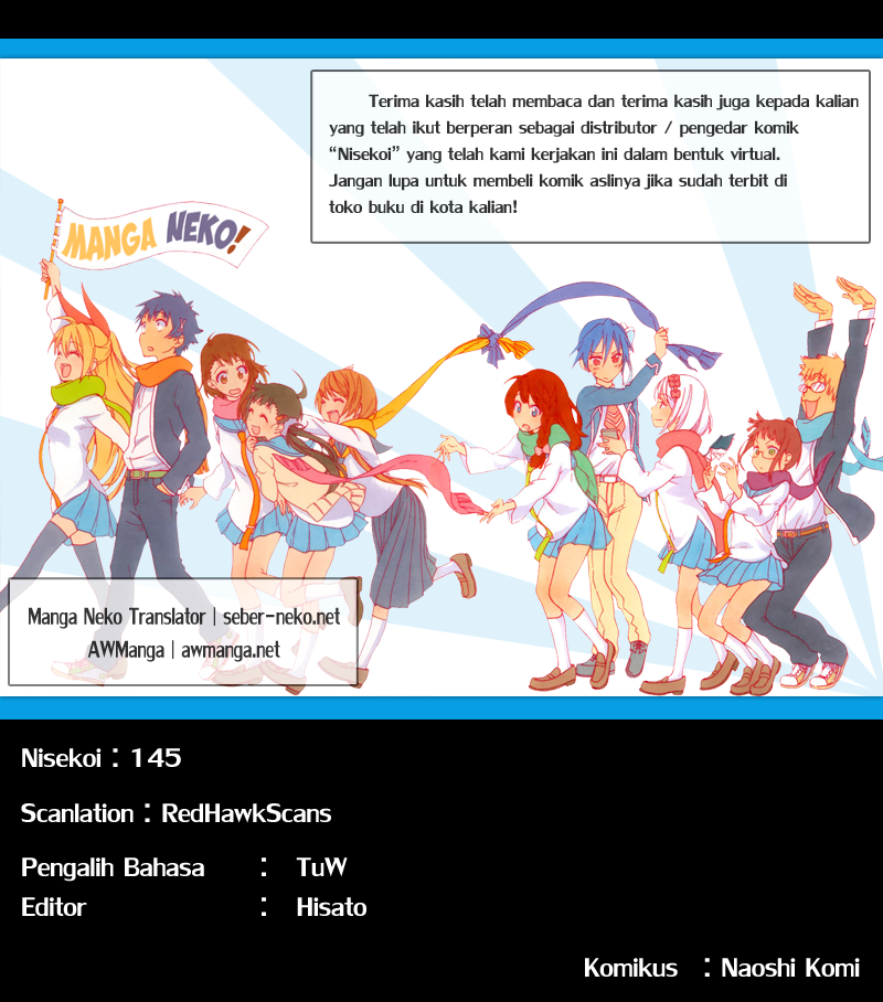 Komik nisekoi 145 - atletik 146 Indonesia nisekoi 145 - atletik Terbaru 20|Baca Manga Komik Indonesia|