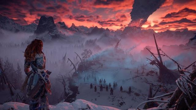 الكشف عن المزيد من الصور لتوسعة The Frozen Wilds القادمة للعبة Horizon Zero Dawn