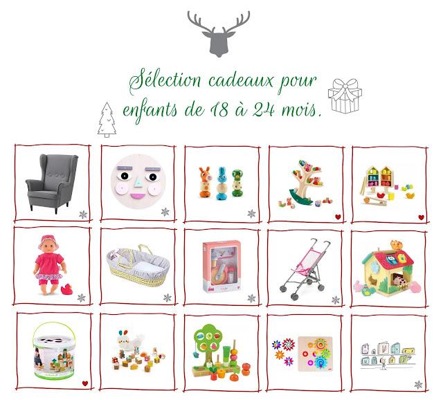 15 cadeaux de Noël pour enfants entre 18 et 24 mois