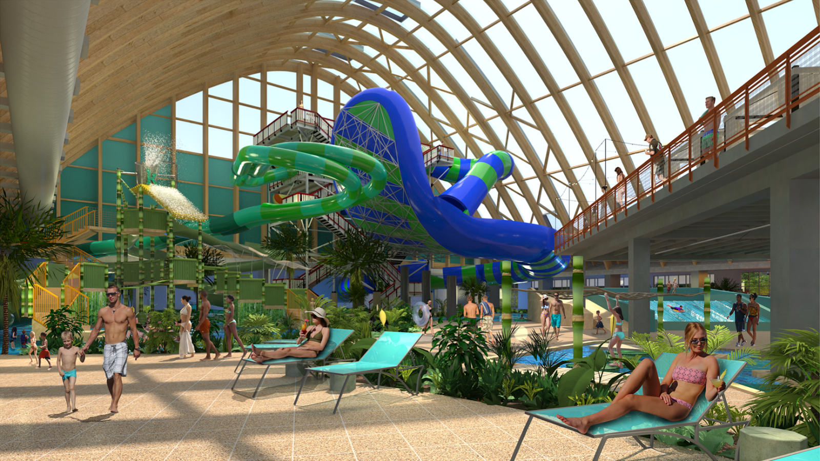 The Kartrite Resort  Indoor Waterpark is NOW OPEN in the