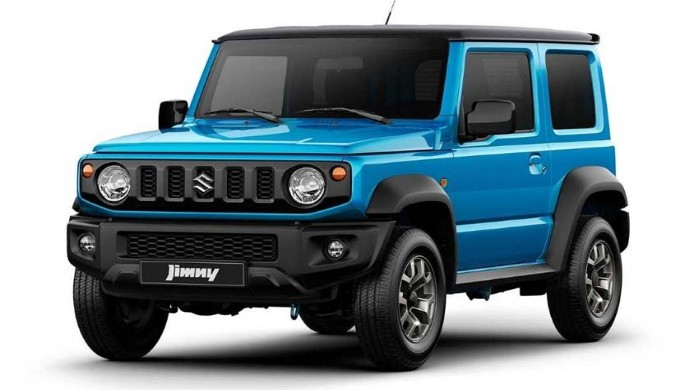 Pilihan Warna Mobil Suzuki Jimny Semakin Menggoda