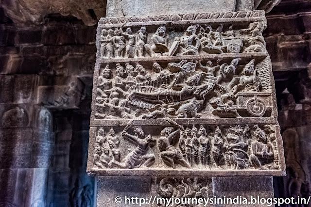 Pattadakal Bhisma Sarasayya From Mahabharatha