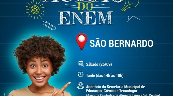 São Bernardo recebe Aulão do Enem neste sábado. Inscreva-se para participar!