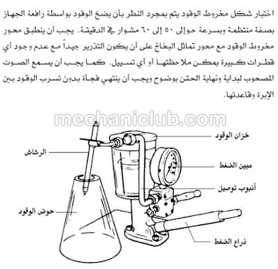 تحميل كتاب شرح بخاخات الديزل وصيانتها PDF