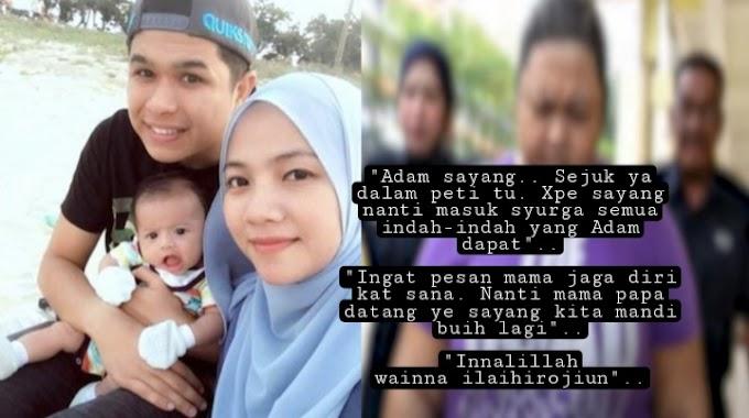 """""""Pengasuh Menunjukkan Lokasi Adik Adam Rayqal Disorok, (Video) - Ibu Tak Dapat Menahan Sebak"""
