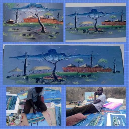 MEET LAWAL THE ARTIST WHO ABANDONED HIS BANK JOB TO PURSUE HIS PASSION