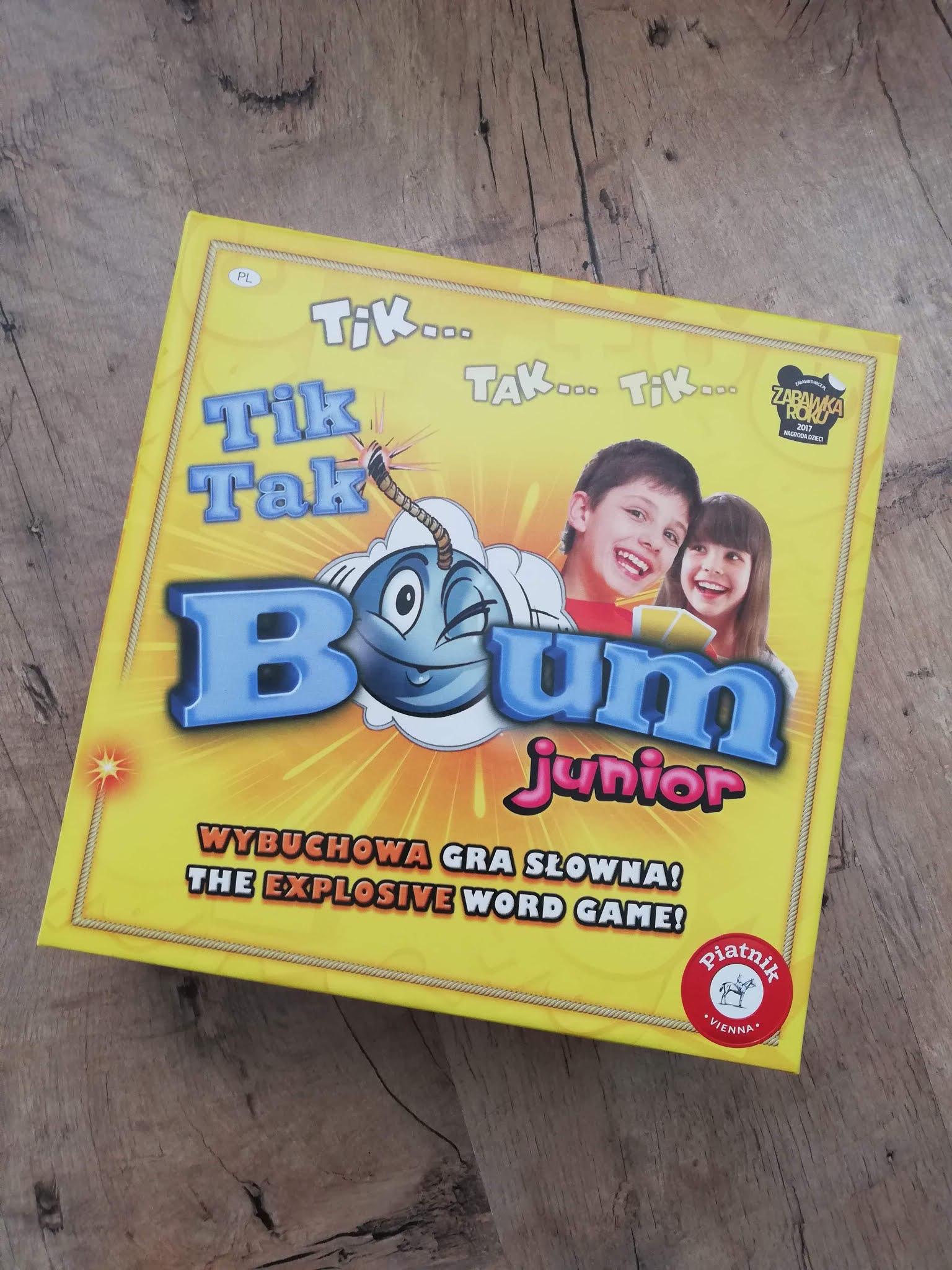 Tik Tak Bum Junior - Piatnik