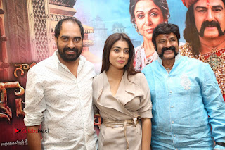 Shriya Saran Nandamuri Balakrishna at Gautamiputra Satakarni Team Press Meet Stills  0213.JPG