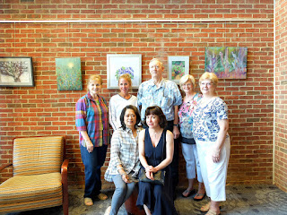 Members of the Olney Art Association