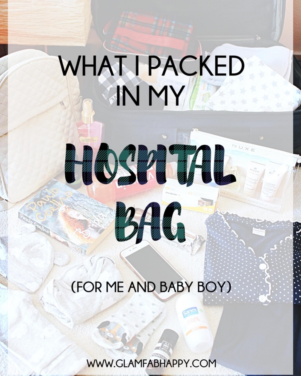 new mother's hospital bag checklist, sta spakovati za porodiliste za majku i bebu
