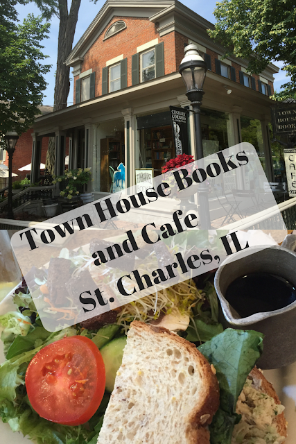 Town House Books and Cafe in St. Charles, IL