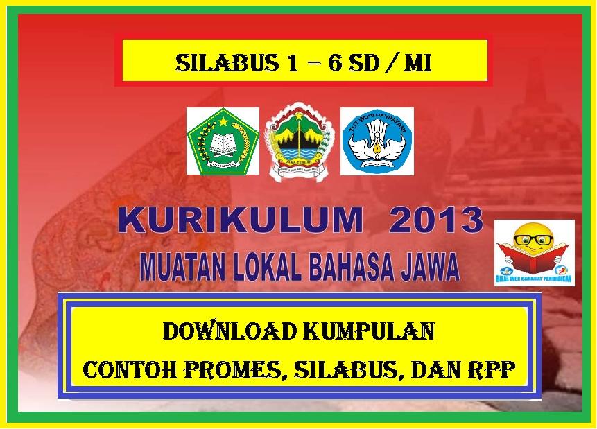 Download Silabus Bahasa Jawa Kelas 1 S D 6 Tahun 2020 2021 Gratis Bilal Web Inspirasimilenial