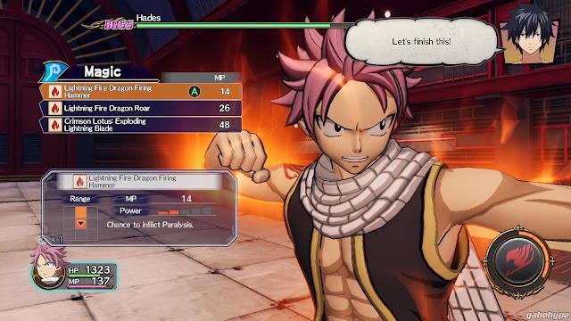 Screenshot Gameplay FAIRY TAIL