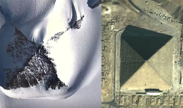 "Antarctic ""Pyramids"" and Ruins Could be Used in Partial Disclosure Psyop Snow-pyramid-alien-human-726475"