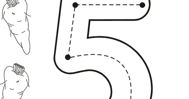 Cuentosdedoncococom Ficha Para Repasar El Número 5 Cinco