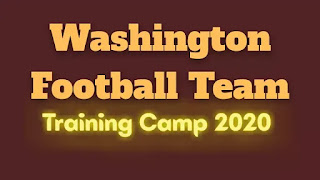 Washington Football team training camp 2020