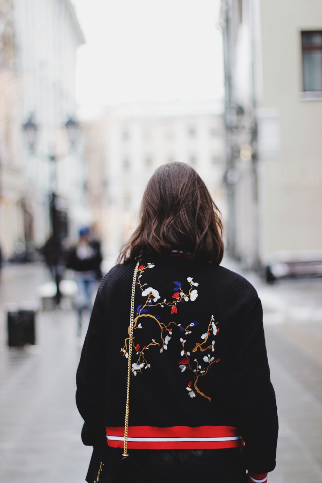 Embroidered Bomber Jacket Trend