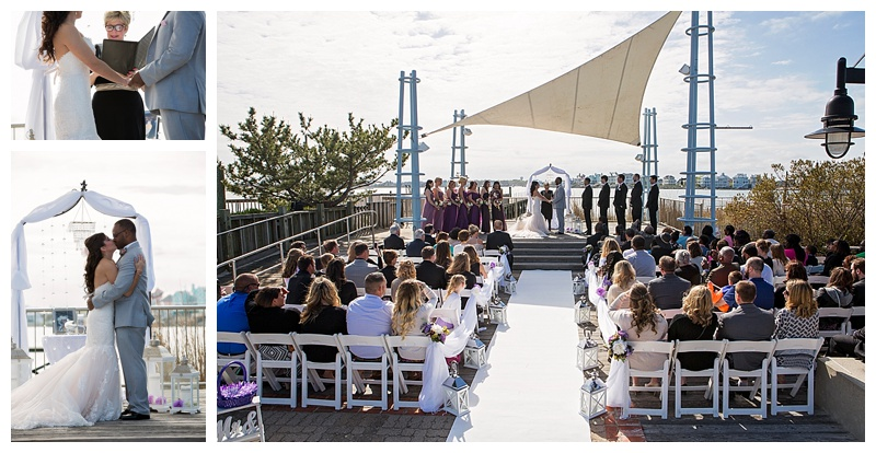 Wedding Coordinator Alison To The Altar Ceremony Venue Sunset Park Reception Harrisons Harborwatch Hair Make Up Artist Andrea Bounds