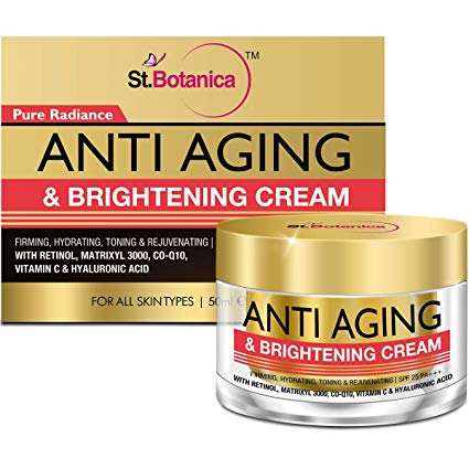 StBotanica Pure Radiance Anti Aging Cream : The Top Anti Aging Cream