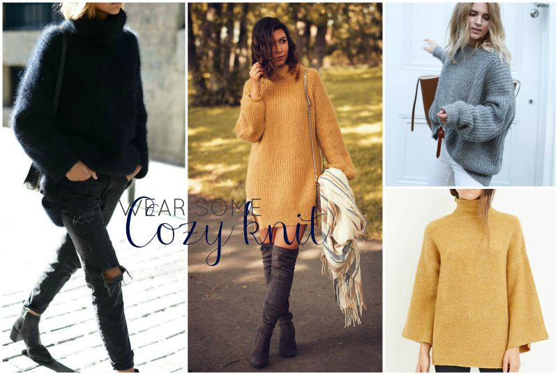 TheBlondeLion Lifestyle Blog 10 things to do in Autumn - 7 wear cozy knit