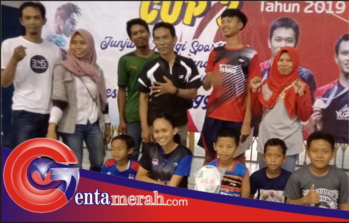 Ajang Bulutangkis Balam Cup II, Pebulutangkis Kota Metro Berhasil Sabut Juara Disemua Kategori