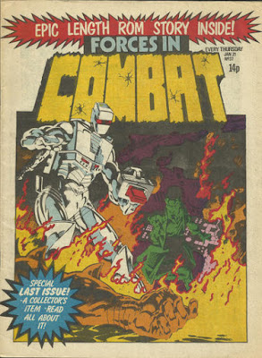 Forces in Combat #37, ROM